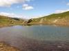 See auf dem Bistinenpass 2386m