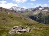 Sicht vom Bistinenpass  2386m gegen Nanztal; Böshorn