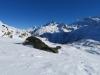 Wasenhorn 3245m, Mäderhorn 2852m, Monte Leone  3552m