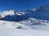 Simplonpass; Wasenhorn 3245m, Mäderhorn 2852m, Monte Leone  3552m, Hübschhorn 3192m