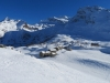 Hopsche 2038m; Mäderhorn 2852m, Monte Leone  3552m, Hübschhorn 3192m