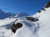 wunderschöne Winterlandschaft; Rauthorn/ Böshorn 3268m, Galehorn 2797m