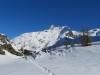 auf einsamen Pfaden; Mäderhorn 2852m, Monte Leone  3552m