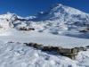 Bergalpe Blatte; Mäderhorn 2852m, Monte Leone  3552m, Hübschhorn 3192m