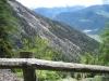 Sicht auf die Abhänge des Schwarzhorns