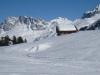 bei der Bodähütte 1632m; Schijenflue 2625m, Sarotlaspitz 2564, Schollberg 2570m
