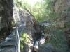die Treppen in der Jolischlucht