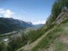 Brunethorn 2952m, Emshorn 2633m, Meretschihorn 25678m, Illhorn 2717m, Gorwetschgrat 2025m