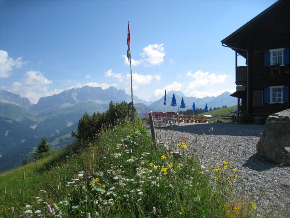 das Restaurant auf dem Stelserberg
