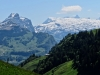 Forstberg/ Druesberg, Ruchen 2911m, Glärnisch 2914m, Bächistock 2914m, Rüchigrat; vo Silberen