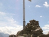 Gipfelkreuz Sunnig Grat 2033m