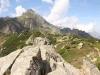 auf dem Sunnig Grätli; akobiger  2505m,  Ruchälplistock 2476m, Grossganderstock 2311m, Stockgrueben