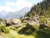 Chäserli; Oberalpstock  3328m, Witwenalpstock  3016m, Bristen 3073m
