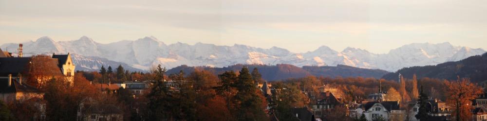 Panorama von der Bundesterrasse