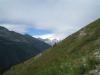 Finsteraarhorn  4274m, Klein Lauteraarhorn 3737m, Lauteraarhorn 4042m, Schreckhorn 4078m, Vo Dossen 3144m, Rosenhorn 3689m, Mittelhorn 3704m