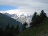 Finsteraarhorn  4274m, Klein Lauteraarhorn 3737m, Lauteraarhorn 4042m, Schreckhorn 4078m, Vo Dossen 3144m, Rosenhorn 3689m, Mittelhorn 3704m,
