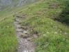 hinauf zum Sätteli; Sättelisteckleni 2178m