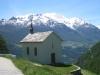 Kapelle Eischbiel mit Balfrin und Mischabelgruppe