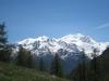 Lammenhorn 3190m, Schilthorn 3402m, Balfrin 3783m, Ulrichshorn 3 925m, Lenzspitze 4294m, Nadelhorn 4327m,  Stecknadlehorn 4241m, Dom 4545m,  Hohbärghorn 4219m, Dürrenhorn 4035m,  Riedgletscher, Galenjoch 3303m