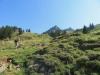 im Aufstieg zur Druesberghütte; Schülberg 1930m, Chli Schülberg 1894m