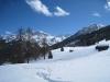 Aroser Weisshorn  2653m, vo Güdaspitz 2190m, Walagrind 2230m, hi Plattenhorn 2528m, Alpstein 2297m