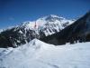 Aroser Weisshorn  2653m, vo Güdaspitz 2190m, Walagrind 2230m, hi Plattenhorn 2528m