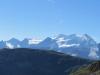 Hangend Gletscherhorn 3292m, Dossen 3138m, Wellhorn 3192m, Rosenhorn 3689m, Mittelhorn 3704m, Wetterhorn 3692m, Scheideggwetterhorn 3361m