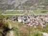 das Dorf Turtmann