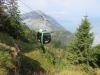 die neue Seilbahn Rigi Scheidegg  1645m