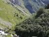 Sicht hinunter ins Val Frisal