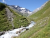 dem Flem entlang; bald bin ich oben; Cavistrau Pigne, 3220m,  Cavistrau Grond 3252m