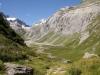 auf dem Rückweg:  Weg zur Alp Nova; ein letzer Blick zurück ins Val Frisal