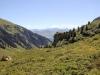 auf dem Weg zur Alp Nova; Blick zum Mundaun