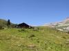 Alp Nova 1774m  mit Grat des Bifertenstocks und  Kistenstöckli