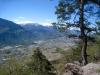 Blick ins Rhone tal ; Mont Noble ?