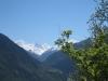 Sicht ins Val d'Anniviers; Weisshorn, les Diablons, Zinalrothorn