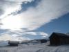 Scheunen im Alpgebiet des Lumnez