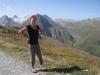 Bruni auf dem Nufenenpass: Bättelmatthorn 3044m, Rothorn 3289m, Blinnenhorn 3373m,Merezebachschiije 3182m, Ritzhörner  3042m