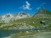 Nufenenpass 2478m; Mittagshorn 3015m, Pizo Gallina 3061m, Kilchhorn 2789m