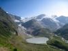 Steisee, Steigletscher, Bockberg 2632m, Gwächtenhorn 3420m, Tierberglihütte 2795m, Mittlerer Tierberg 3418m