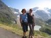 Marianne und Bruni am Sustenpass