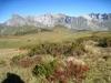 Glegghorn 2445m,  Falknis 2562m, Vorder Grauspitz 2599m, Hinter Grauspitz 2347m, davor Schwarzhorn 2573, Naafkopf 2523m