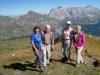 Marianne, Hanspeter, Anne und Brigitte  auf dem Vilan 2376m