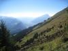 Blick ins Rheintal; Calanda