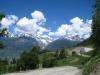 bei Zum Chritzji; Öugstchummenhorn 2924m, Wiwannihorn 3001m, Bietschhorn 3934m, Stockhorn 3212m, Gärsthorn 2927m