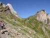 Weg hinauf zur Alp Oberfeld