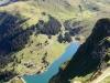 es geht ganz steil hinunter zum Bannalpsee; Sinsgäuer Schonegg 1915m, Chaiserstuel 2400m, Bannalper Schonegg 2250m