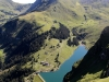 Bannalpsee mit: Sinsgäuer Schonegg 1915m, Chaiserstuel 2400m, Bannalper Schonegg 2250m