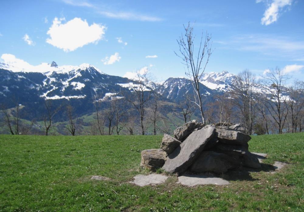 auf Engen; Sächsmoor 2196m, Munzchopf 2174m, Mürtschenstock 2390m