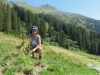Marianne auf Fritterenstäfeli 1777m: Fuggfurggle 2283m, Fuggstock 2371m